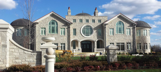 huge mansion in deerfield il